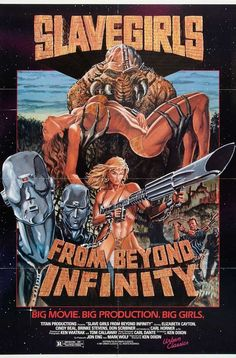 Slave Girls from Beyond Infinity 11x17 Movie Poster (1987)