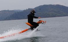 The Jetavation Jetovator flying water bike