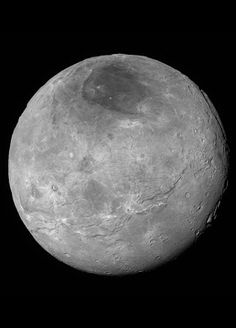 Hubble Space Telescope - #Charon Higher quality version of #Pluto Largest Moon #Charon