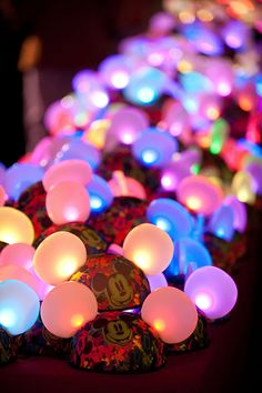 """Get ready to glow! A little more than a year after being introduced at Disneyland Resort, """"Glow with the Show"""" Ears are coming to the Walt #Disney World Resort this fall."""