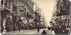İstiklal caddesinde tabelalar - 1930 lar