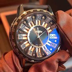 DeWitt Academia Slide Watch Men's Luxury Watches #swisswatch Fancy Watches, Luxury Watches For Men, Cool Watches, Expensive Watches For Men, Stylish Watches For Men, Tourbillon Watch, Watches Photography, Skeleton Watches, Amazing Watches