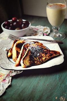 Eggnog French Toast}