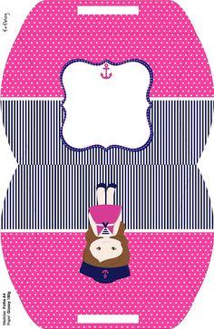 Decoración de Niña Marinerita Kit para descargar e imprimir gratis