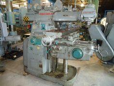 CINCINNATI #3 Universal Horizontal Milling Machine, Vertical Head, #50 taper