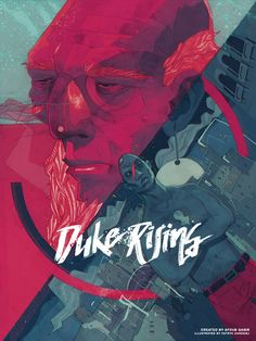 Duke Rising by Ayoub Qanir, via Behance