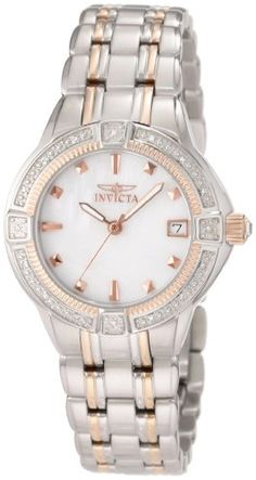 Invicta Women's 0269 II Collection Diamond Accented Stainless Steel Watch