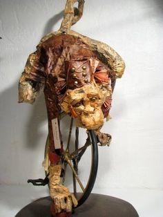 Blog de derkanadart :Nadia Bounhar, le monocycle