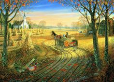 Eurographics - Harvest Time Countryside Jigsaw Puzzle - 1000 pc