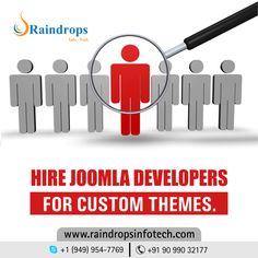 Hire #Joomla #Developers for custom themes.