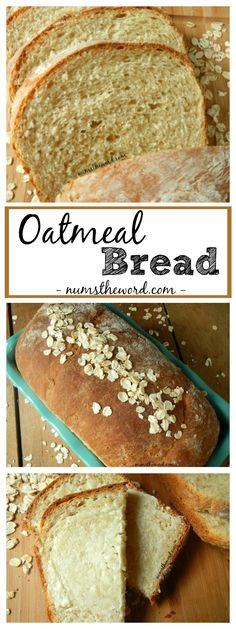 Homemade Oatmeal Bread is easy and delicious! Perfect for toast, a sandwich or even by itself smothered in butter. It will make your home smell amazing and you'll get a gold star for making it from scratch!