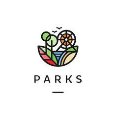 Parks by Roko Kerovec   behance.net/rokac  logoinspiration.net/parks