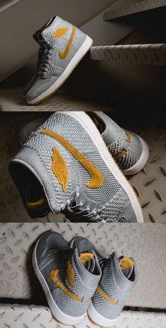 Air Jordan 1 Retro Flyknit Wolf Grey  wolfgrey  airjordan1  jordansneakers   airjordanshoes  jordansshoes  nike  shopping  sneakers  shoes   basketballshoes ... b991bb87c