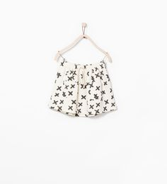 PRINTED SKIRT WITH POCKETS from Zara