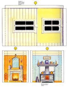 Printable toys and models. Personal use only, please. Paper Doll House, Paper Dolls, Barbie, Miniatures, Printables, Toys, Buildings, Houses, Models