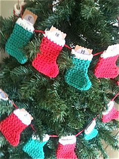 Love2Bloom: Christmas Stocking Advent Calendar: PART TWO