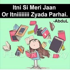 Nanhi si Jaan Very Pareshan Exams Funny, Funny School Jokes, School Humor, Funny Jokes, Exam Quotes, Study Quotes, Jokes Quotes, Me Quotes, Studying Funny