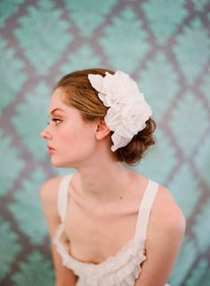 """Considered a """"bridal hair piece"""", I'd find any reason to wear this, if only it wasn't so expensive."""