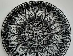 Crochet Dreamcatcher, Crochet Mandala, Crochet Motif, Crochet Doilies, Doily Patterns, Crochet Patterns, Crochet Tablecloth, Crochet Home, Just Do It