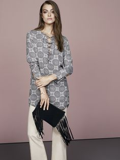 Printed tunic | Gina Tricot Collections | www.ginatricot.com | #ginatricot