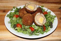 특별한 달걀요리. 스카치 에그