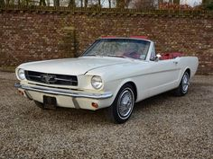 Classic Motors For Sale has classic cars for sale plus a selection of vintage cars from dealers and auctions in UK, US, and Europe. 64 Mustang, Vintage Mustang, Mustang Convertible, Ford Classic Cars, Classic Motors, Car Ford, Art Cars, Cars Motorcycles, Vintage Cars