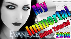 "How to Play ""My Immortal"" by Evanescence - Guitar Lesson"