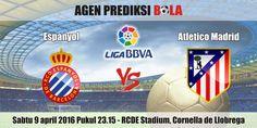 Prediksi Bola Espanyol vs Atletico Madrid 9 April 2016