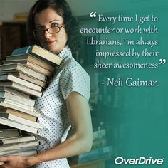 """It's #WorldSmileDay and nothing makes us smile like #librarians! (H/t @neilhimself) """""""
