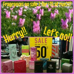 Some bunny told you right! All fragrances for guys and girls are mix and match 2 for $15! They make the perfect addition to any easter basket! Don't let this deal hop away! Come and see us! #fragrance #pinkice #electricheart  #etc! #runway21 #posh #sparkle #revert #twentyoneblack #tarea #cjblack #carbonelements #cjsport #swag #metroblack  #yopeeps #entirestoreonsale #easter #easterbaskets #rue21 #ruelove #1280rocks