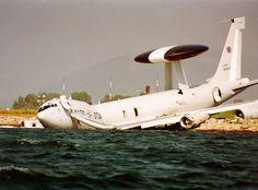 NATO E-3A Sentry crash July 14, 1996, Aktyon, Greece