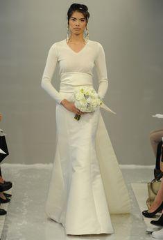 Cashmere Sweater Kimono Wedding Dress