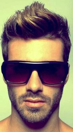 Cool Brushed Up Hairstyle - Best Mens Hairstyles 2015- 2016