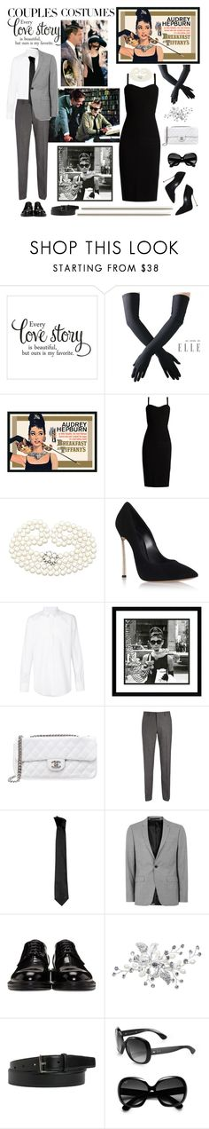 """Untitled #933"" by m-jelic ❤ liked on Polyvore featuring Black, MaxMara, Casadei, Dolce&Gabbana, Amanti Art, Chanel, Joseph, Versace, Topman and Loewe"