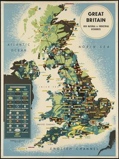 Great Britain. Her natural and industrial resources (via Boston Public Library)