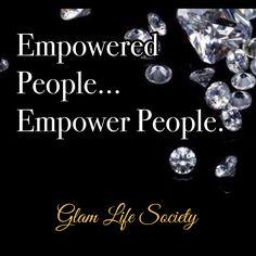 Aim to build... Not tear down. Www.GlamLifeSociety.com