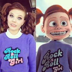 Disney Cosplay. How perfect would Darla be for the Disney marathon? Or the Villains themed race at Disney? She's definitely one of Pixar's scariest villains!