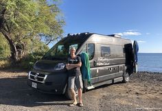 Campervan Hawaii - Glamping Around Maui in a Rental Camper Van Maui Travel, Maui Vacation, Travel Destinations, Rent Camper, Rent Rv, Rental Vans, Rv Rental, Class B Camper Van