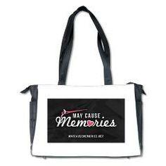 May Cause Memories - In the Craft Lane Diaper Bag> MCM Logo Product Line> May Cause Memories