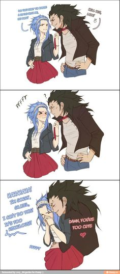 Some fun stuff for you :) --> and they're wearing wedding riiings! just for you Gajevy shippers! =) you're welcome!