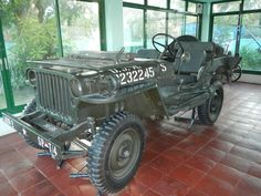 Willy's MB formerly used by the President of the Philippines