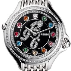 Fendi multi colored topaz diamond $3,000