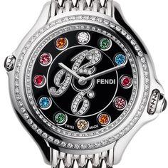 Fendi multi colored topaz diamond $3,000