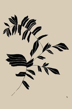 Gravure Illustration, Plant Illustration, Site Instagram, Motifs Textiles, Arte Floral, Art Graphique, Woodblock Print, Pattern Art, Art Images