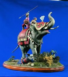 war elephant model - Google Search