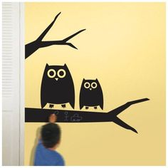 Chalkals - Hootie Wall Decal - 6 x 19 in: Everything Else