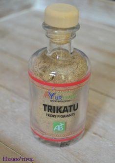 Trikatu : mélange de poivres et gingembre pour des plats relevés! Crédit photo : Herbiotiful http://herbiotiful.com