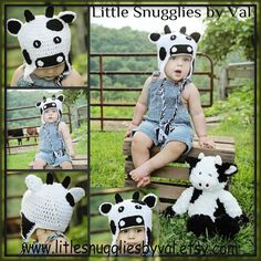 SALE TODAY LSBV  Cow Hat. Multiple Sizes. Made to Order on Etsy, $28.45