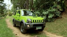 Suzuki Jimny Matt Black Respray With Monster Green Wheels - Szukaj w Google