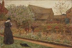 Frederick Walker, The Old Farm Garden (1871)  © The Courtauld Gallery, London